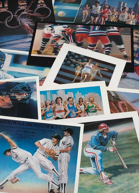 Sports Fine Art - May 2008 Catalog