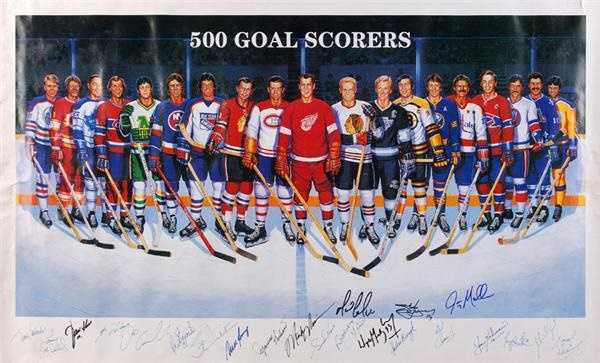 Hockey Autographs - June 2008 Internet Auction