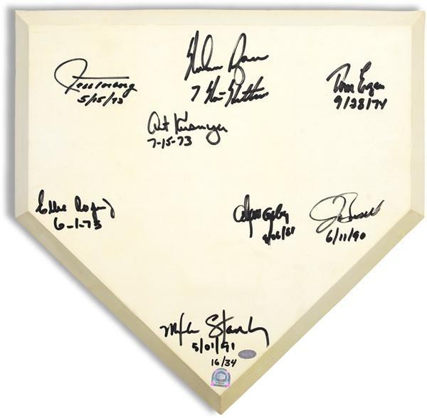 Baseball Autographs - June 2008 Internet Auction
