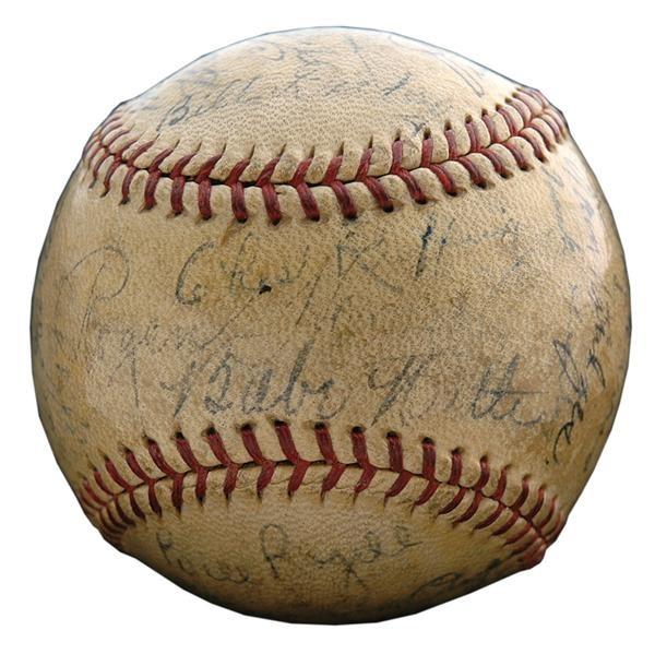 Baseball Autographs - June 2009 Catalogue