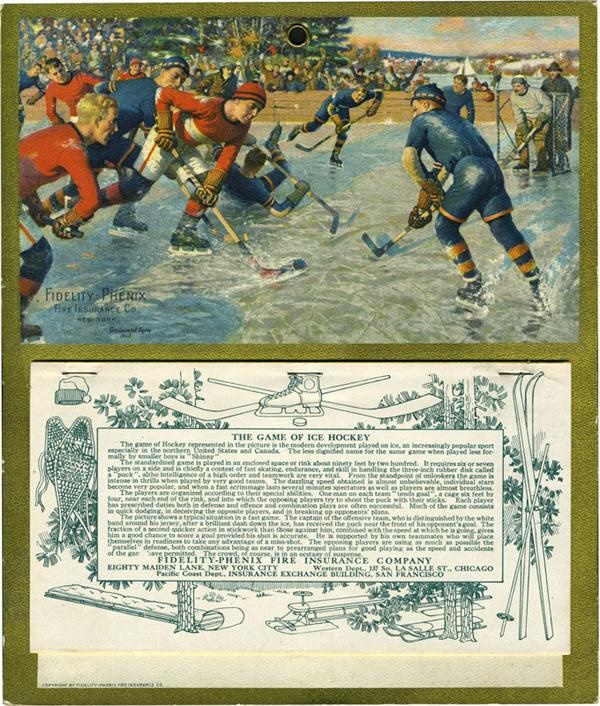 Hockey Memorabilia - June 2009 Catalogue
