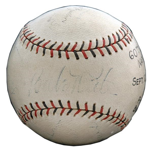 Babe Ruth - June 2009 Catalogue