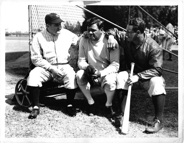 Babe Ruth and Lou Gehrig - June 2009 Catalogue