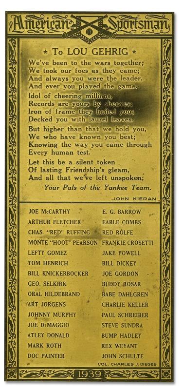 NY Yankees, Giants & Mets - June 2009 Catalogue