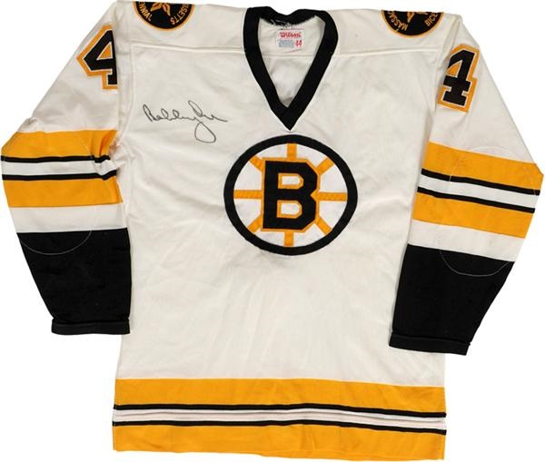 1975-76 Bobby Orr Boston Bruins Game Model   Signed Jersey 8a5439cf6