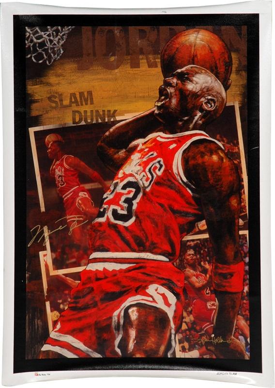 b6c357ae237 Michael Jordan Signed Stephen Holland Giclee AP 4/23. Sports Fine Art -  auction
