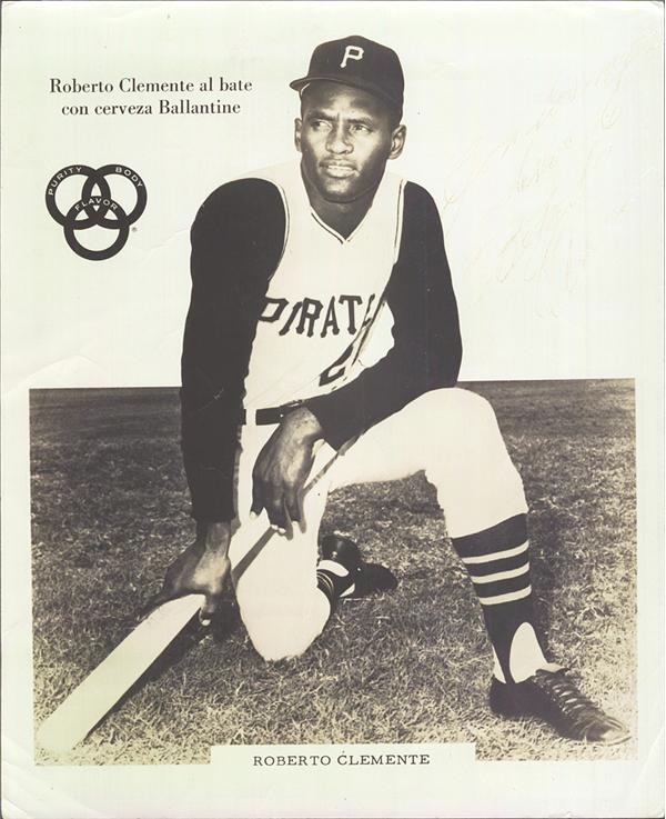 Clemente and Pittsburgh Pirates - November 2009 Catalog