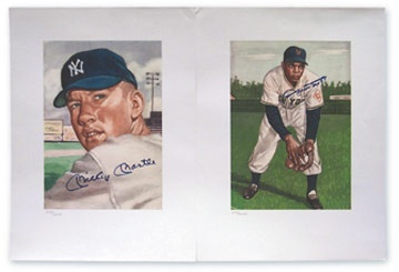 Mickey Mantle - August 2001