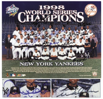 NY Yankees, Giants & Mets - August 2001