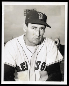 Ted Williams - August 2001