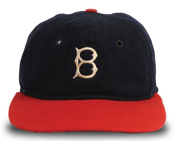 1935 Babe Ruth Boston Braves Game Used Hat af8c0636ca8