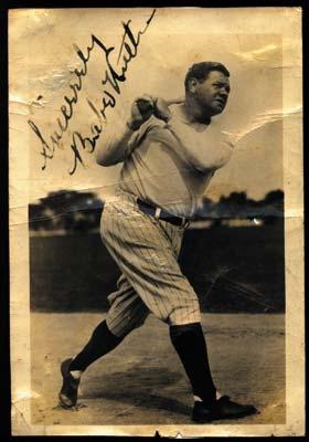 Babe Ruth - December 2001