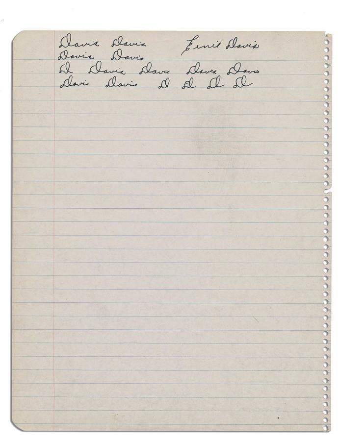 Ernie Davis - June 2010 Catalog