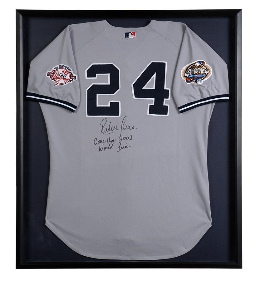 Game Used Baseball Jerseys and Equipment - June 2010 Catalog