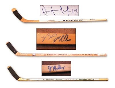 Hockey Sticks - December 2001