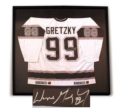 Wayne Gretzky - December 2001