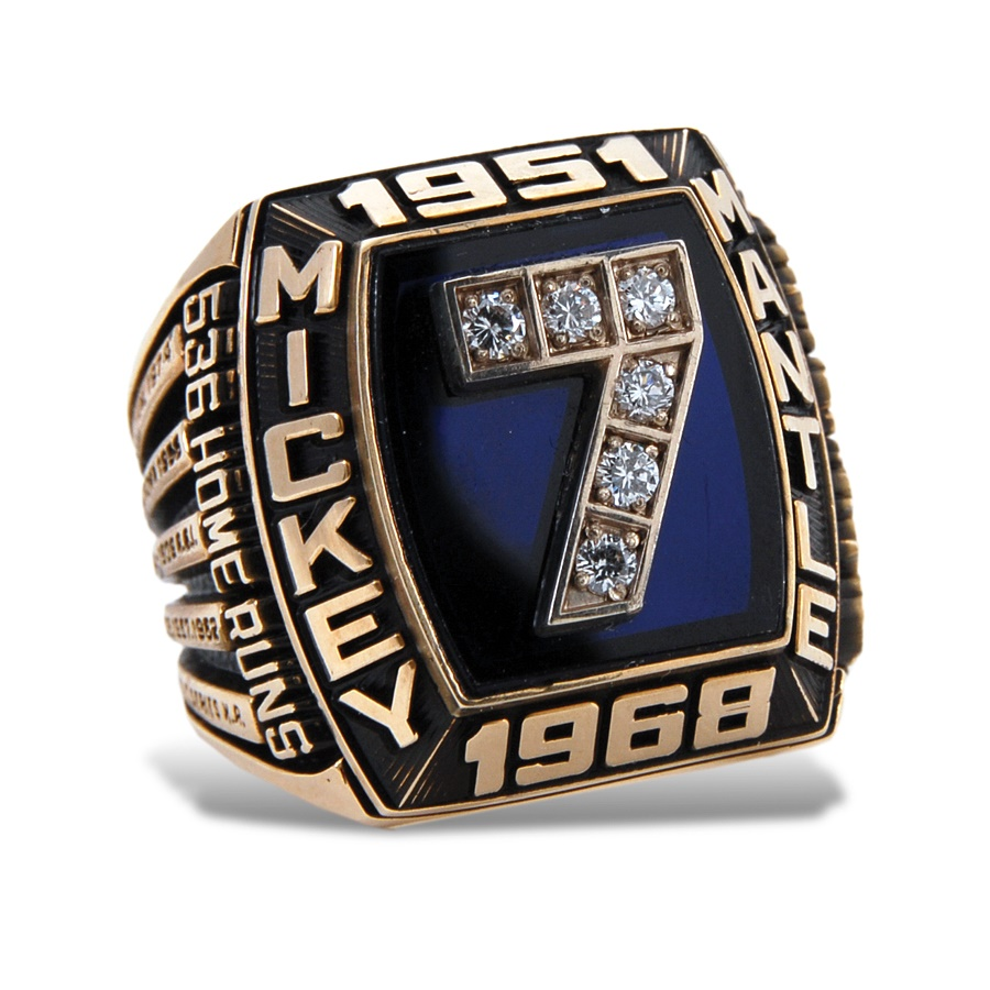 Sports Rings And Awards - Spring 2012 Catalog Auction