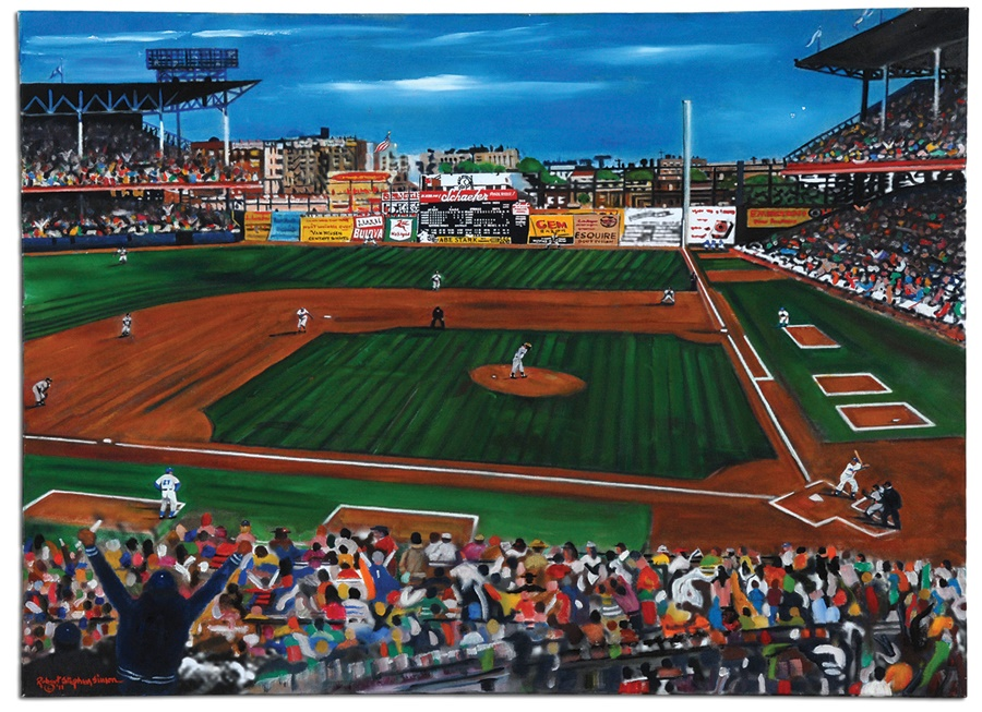 Robert Stephen Simon Collection of Sports Art - Spring 2012 Catalog Auction