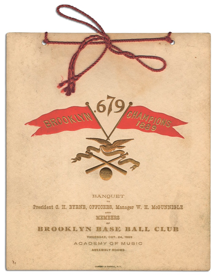19th Century - Spring 2012 Catalog Auction