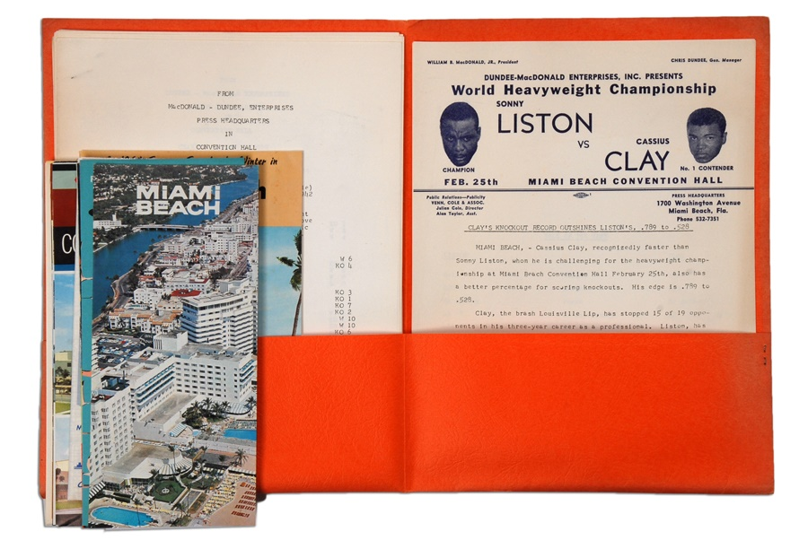 Muhammad Ali & Boxing - Spring 2012 Catalog Auction