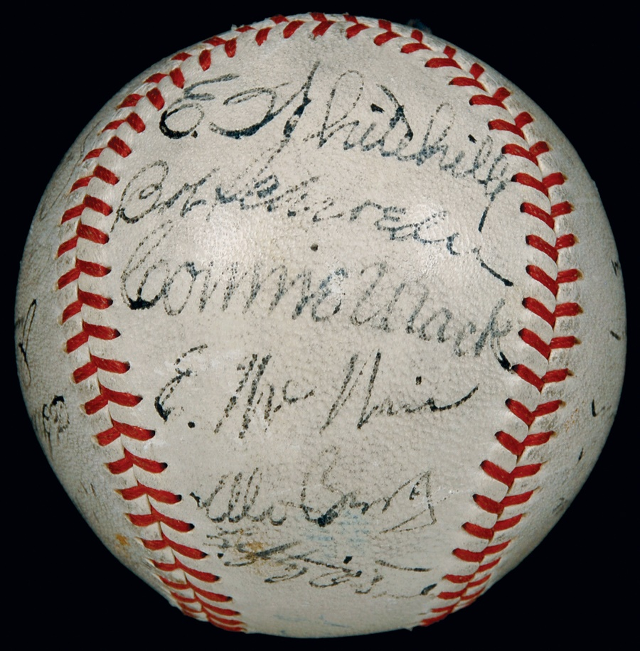 Jewish Baseball History - Spring 2012 Catalog Auction