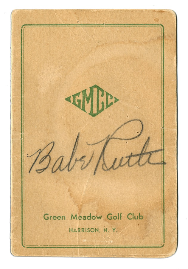 Ruth and Gehrig - Spring 2012 Catalog Auction