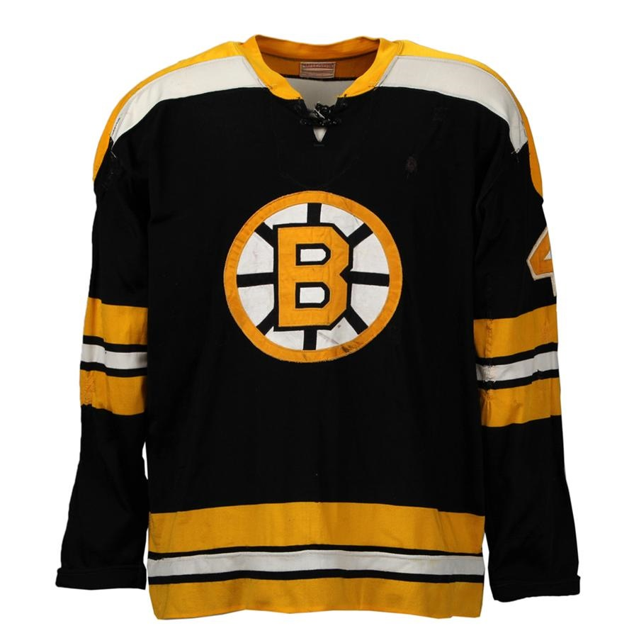 20644f5b2 1968-69 Bobby Orr Boston Bruins Game-Worn Jersey (Photo-matched)