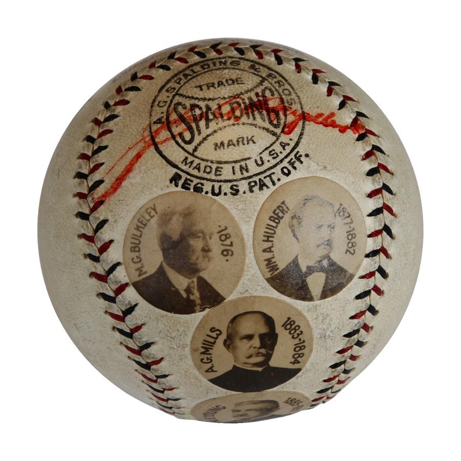 Baseball Memorabilia - Fall 2012 Catalog Auction