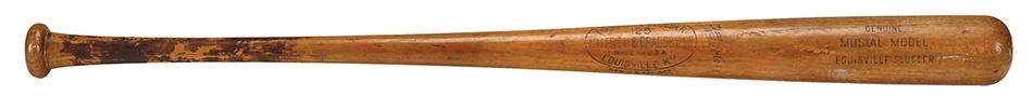 Baseball Equipment - Spring 2013 Catalog Auction