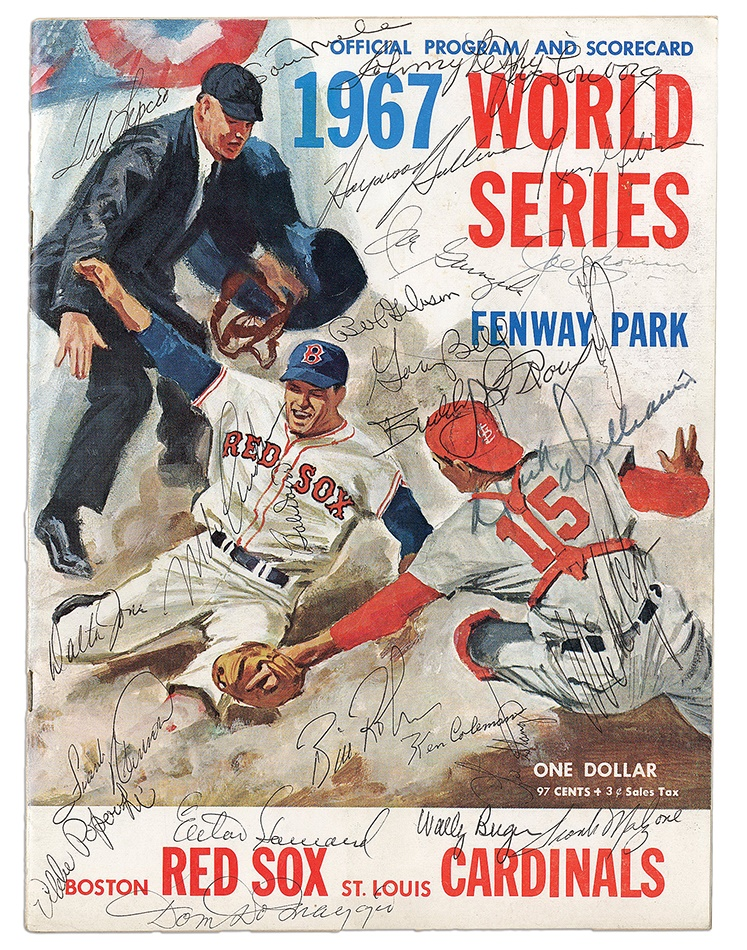 Boston Sports - Spring 2013 Catalog Auction