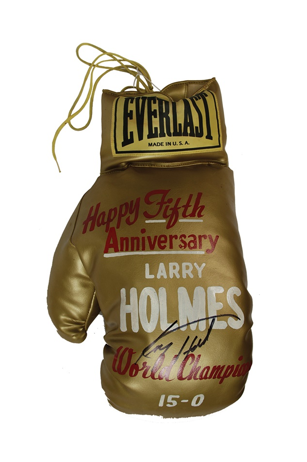 Larry Holmes - Spring 2013 Catalog Auction