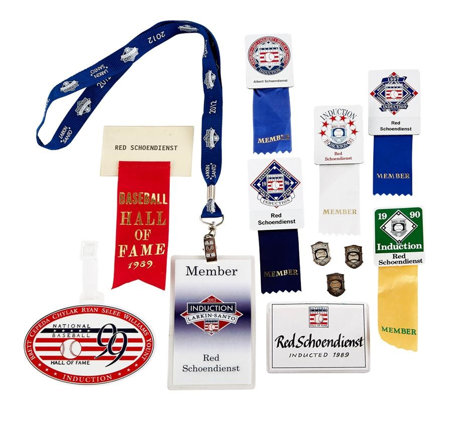 Red Schoendienst Jewelry & Awards - Fall 2013 Catalog Auction