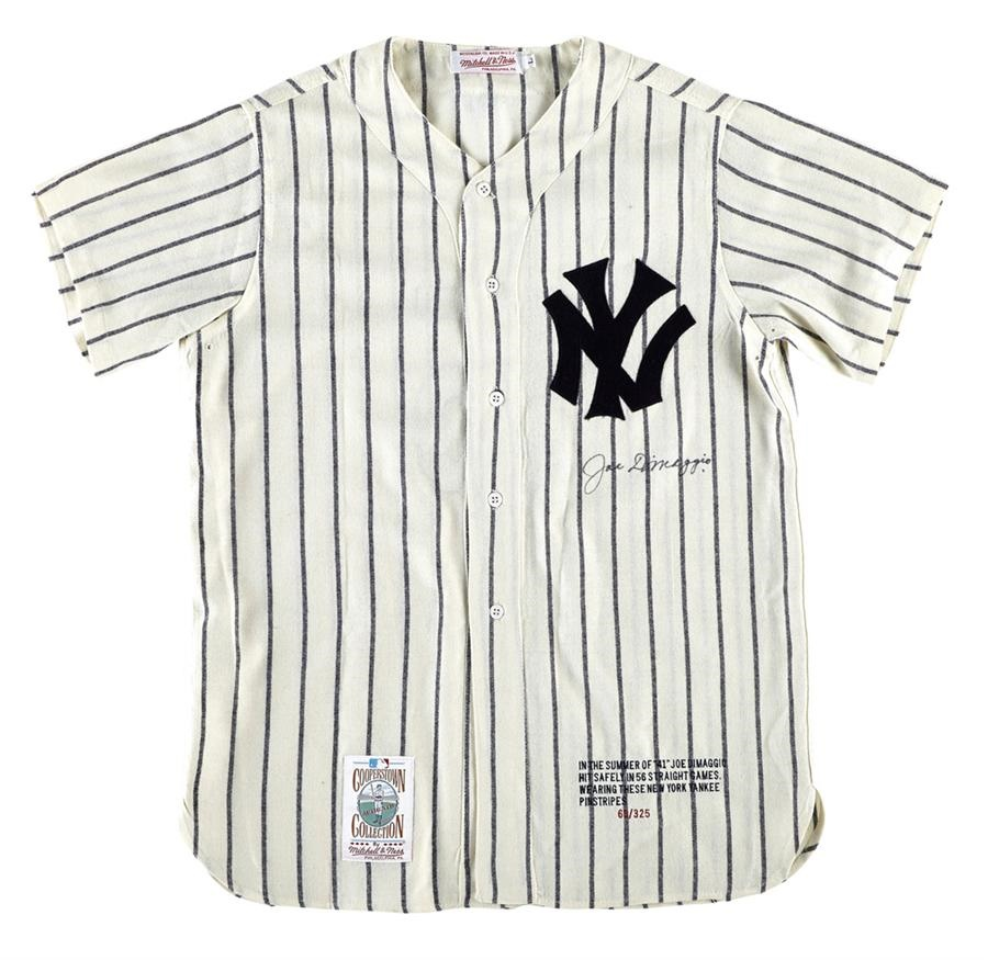5d5a07e1b72 Joe DiMaggio Signed Limited Edition Jersey