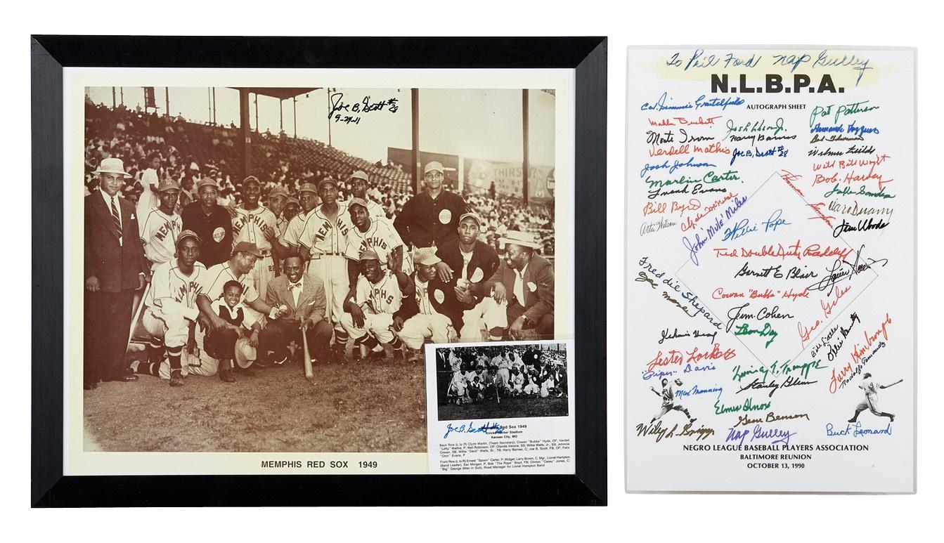 Negro League, Latin, Japanese & International Base - Fall 2013 Catalog Auction