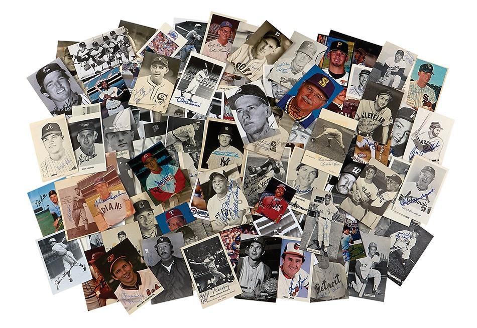 Baseball Autographs - Spring 2014 Catalog Auction