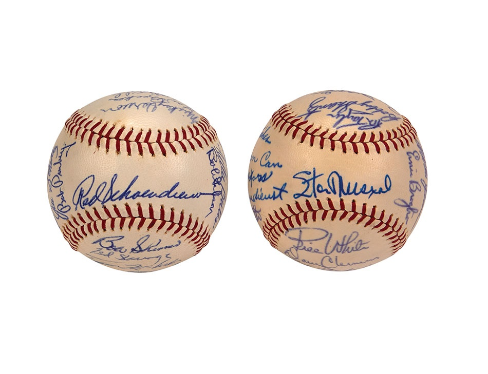 Red Schoendienst Collection Part II - Spring 2014 Catalog Auction