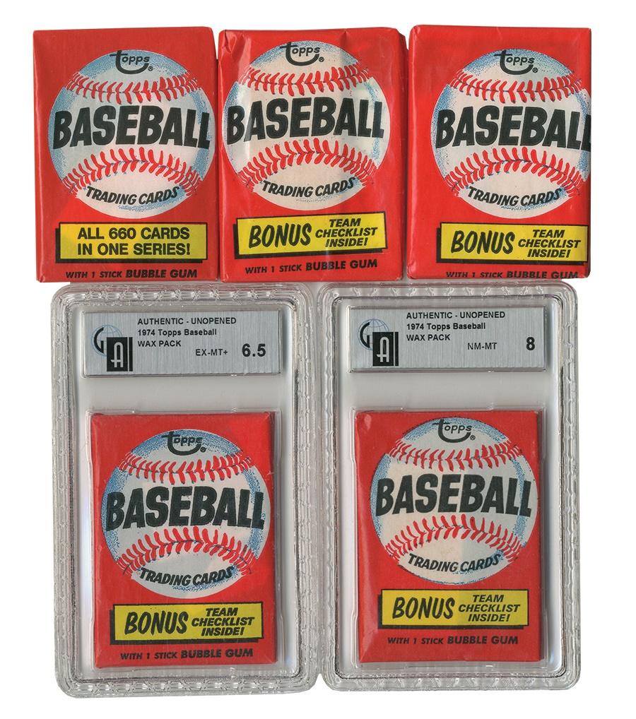 Vintage Unopened Packs - Spring 2014 Catalog Auction