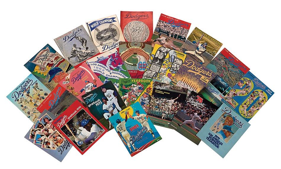 Jackie Robinson & Brooklyn Dodgers - Spring 2014 Catalog Auction