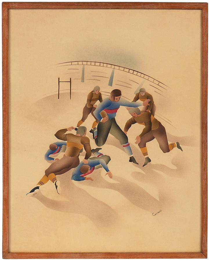 Sports Fine Art - Fall 2014