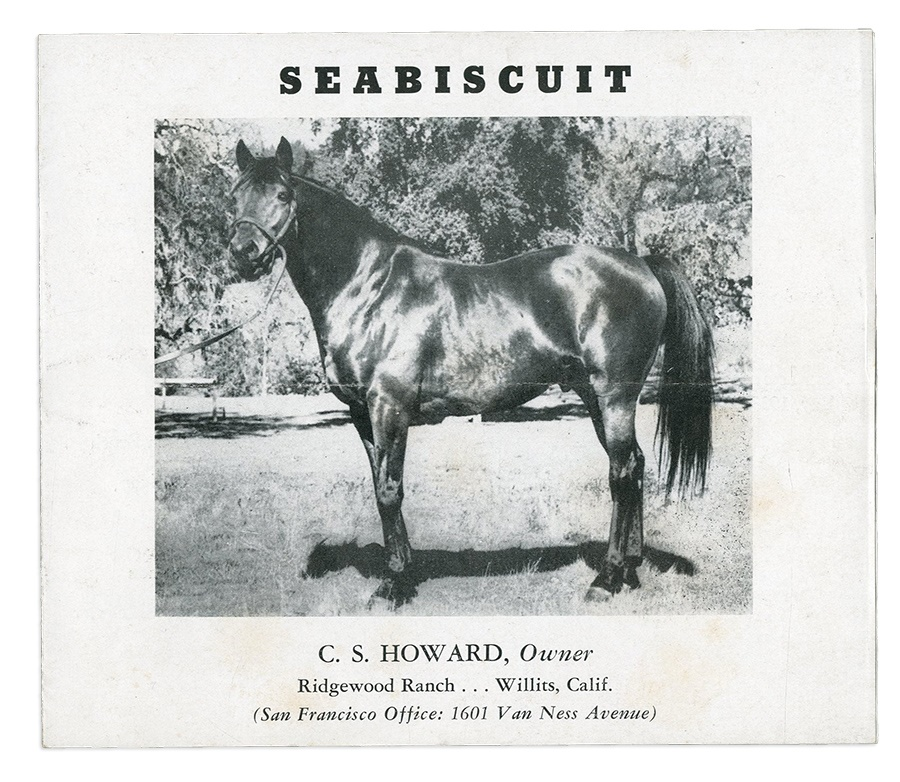 The Seabiscuit Collection of Chris Lowe - Fall 2014