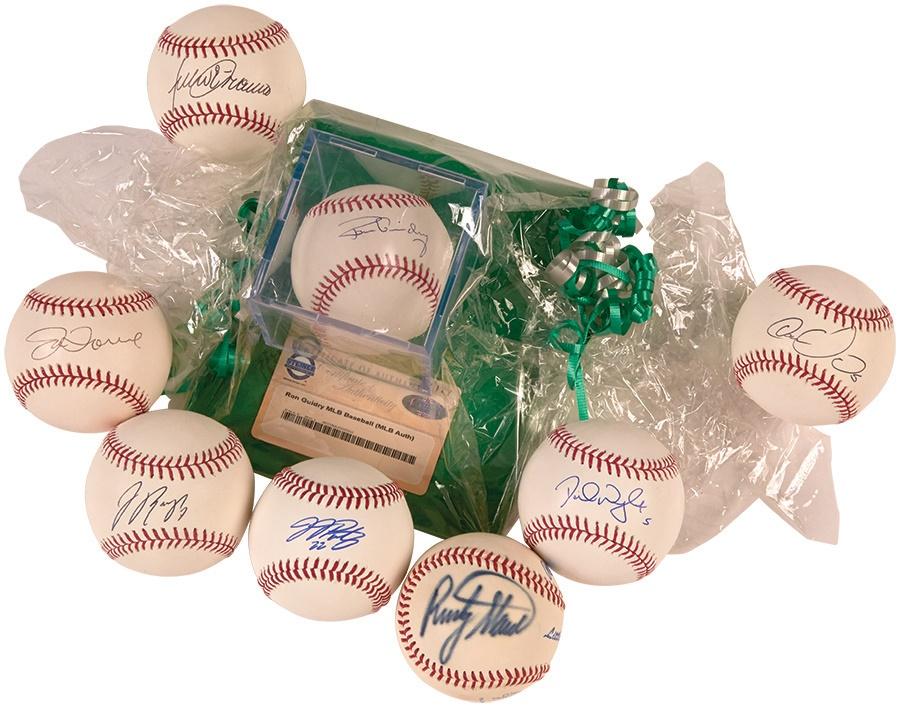 Baseball Autographs - Fall 2014