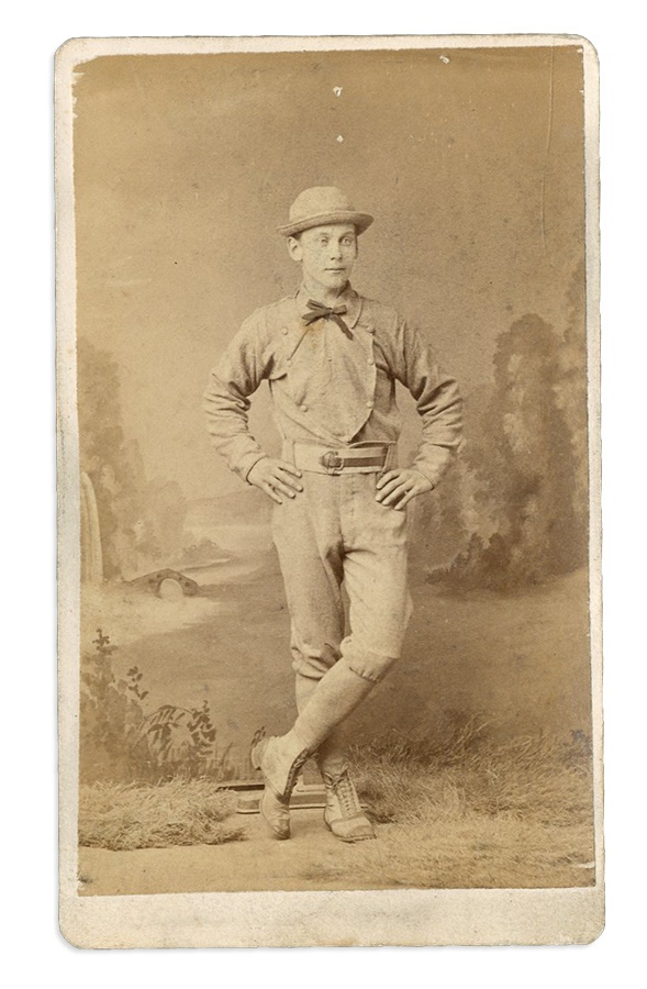 1870s Harrisburg Pennsylvania Baseball Carte De Visite Ex Mark Rucker