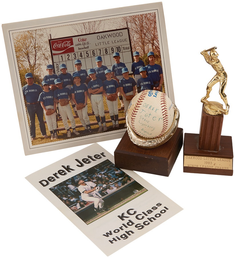 Derek Jeter Little League Collection - Fall 2014
