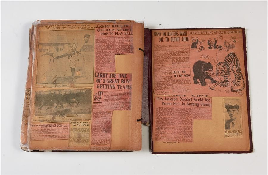 The Shoeless Joe Jackson Scrapbooks - Fall 2014