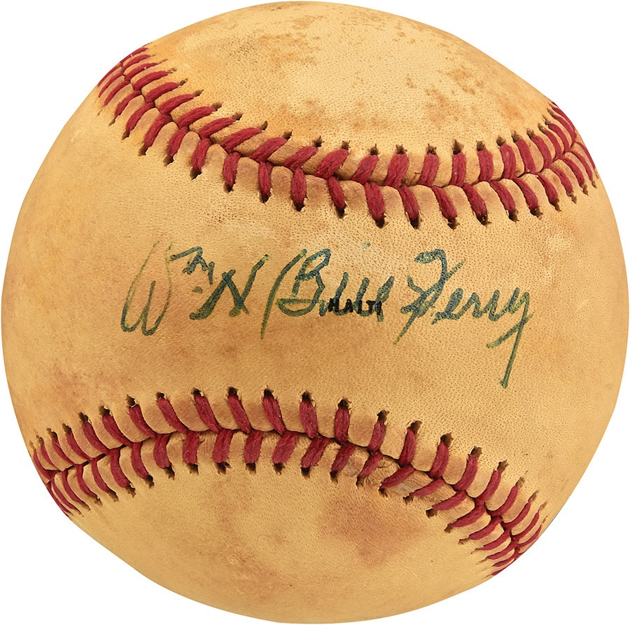 The Joe L Brown Signed Baseball Collection - Fall 2014