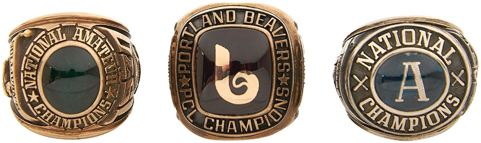 Sports Rings And Awards - Summer 2015 Catalog Auction