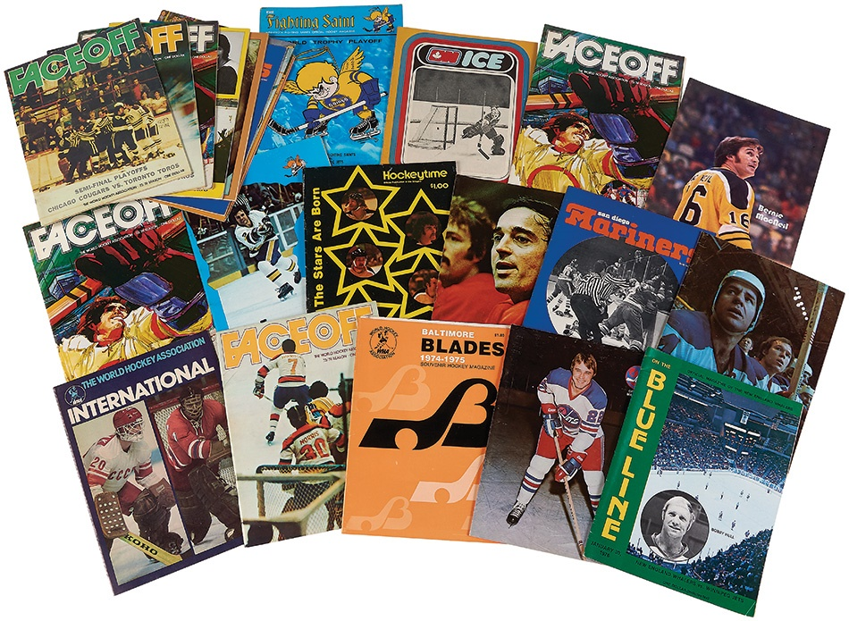 Hockey - Summer 2015 Catalog Auction