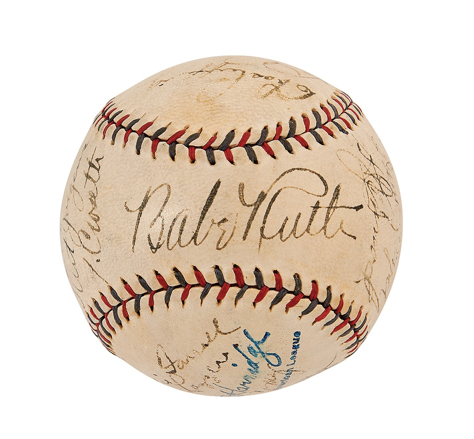 Baseball Autographs - Summer 2015 Catalog Auction