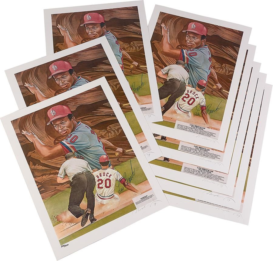 The Lou Brock Collection - Summer 2015 Catalog Auction