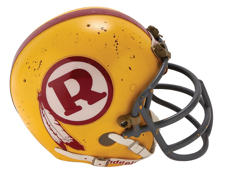 The Washington Redskins Collection - Summer 2015 Catalog Auction